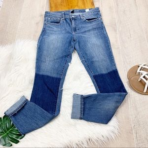 Gap Denim Legging Patch Med Wash Jean's 1994
